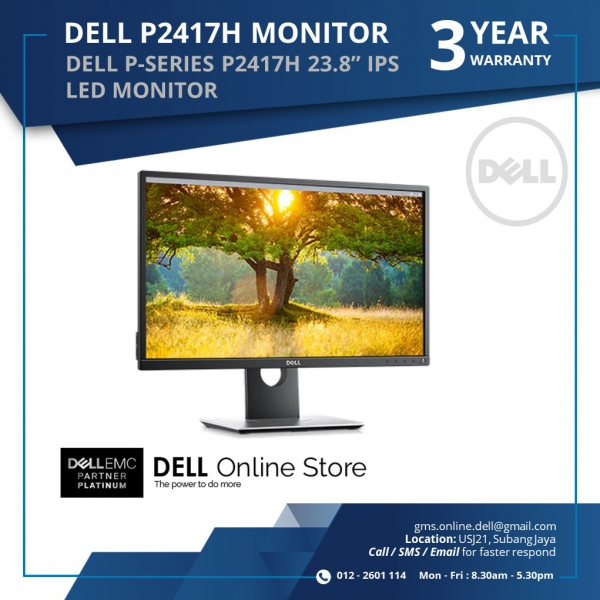 drivers for dell p2417h monitor