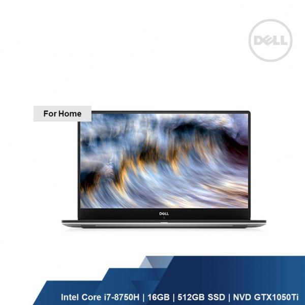 DELL XPS 9570 (I7-8750H,16GB,512GB SSD,NVD GEFORCE GTX 1050Ti,W1OH,1YRS)