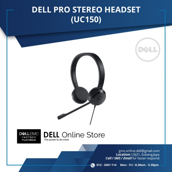 DELL PRO STEREO HEADSET (UC150)