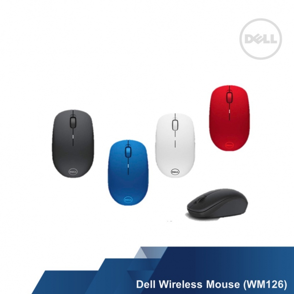 506d8c77854 DELL OPTICAL WIRELESS MOUSE (WM126) - KEYBOARD-MOUSE