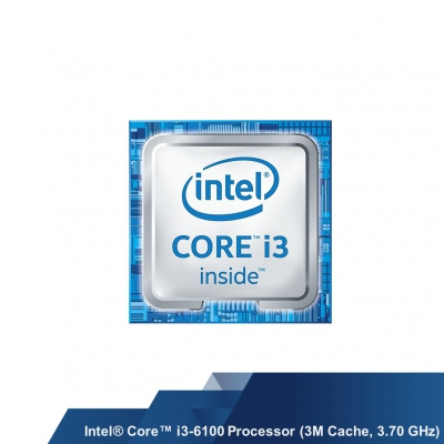 INTEL CORE i3-6100 DESKTOP PROCESSOR (3M CACHE, 3.70 GHZ) (SR2HG)