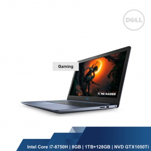 DELL GAMING G3 3579(INTEL I7-8750H,8GB,1TB+128GB,NVD GTX1050Ti 4GB,WIN10HOME,2YRS)