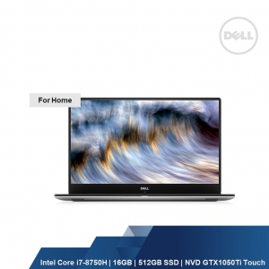 DELL XPS 9570 (I7-8750H,16GB,512GB SSD,NVD GEFORCE GTX 1050Ti TOUCH,W1OH,1YRS)