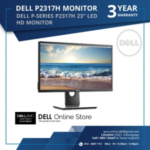 DELL P-SERIES P2317H 23 LED HD MONITOR