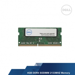 DELL 4GB DDR4 SODIMM 2133MHZ MEMORY