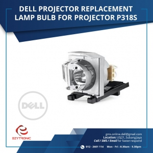 DELL PROJECTOR LAMP BULB, FPR FOR PROJECTOR P318S