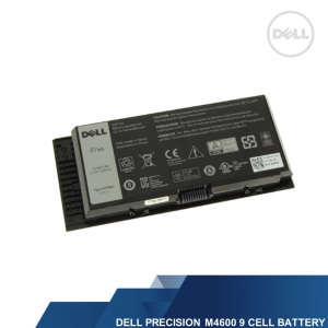 DELL GENUINE PRECISION M4600/M4700/M4800/M6600/M6700/M6800 9 CELL 87WH LAPTOP BATTERY