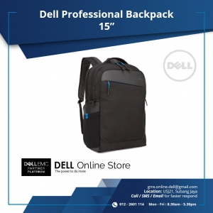 DELL 15 PROFESSIONAL BACKPACK