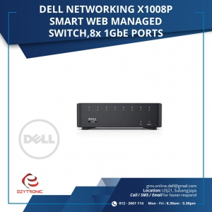 DELL NETWORKING X1008P SMART WEB (210-AEIR-X1008P)