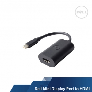 DELL MINI DISPLAYPORT (M) TO HDMI (F) ADAPTER