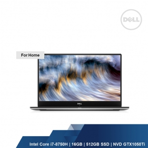 DELL XPS 9570 (I7-8750H,16GB,512GB SSD,NVD GEFORCE GTX 1050Ti,W1OH,1YRS)