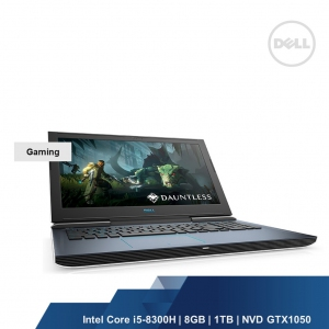 DELL GAMING G7 7588(INTEL I5-8300H,8GB,1TB,NVD GTX1050 4GB,WIN10HOME,2YRS)