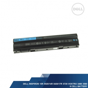 DELL GENUINE INSPIRON 15R 5520/14R 5420/17R 5720 VOSTRO 3460 3560 6 CELL 48WH LAPTOP BATTERY