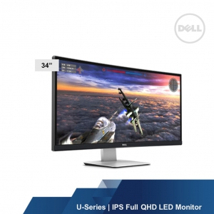 DELL U-SERIES U3415W 34 IPS FULL QHD LED CURVED MONITOR