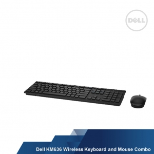 DELL WIRELESS KEYBOARD & MOUSE COMBO KM636