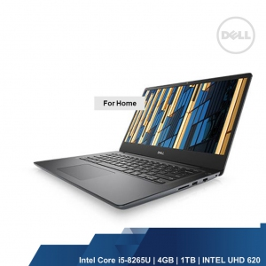 DELL VOSTRO 5481 (INTEL I5-8265U,4GB,1TB,INTEL UHD,WIN10HOME,1YRS)