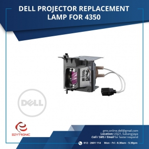 DELL PROJECTOR REPLACEMENT LAMP FOR 4350