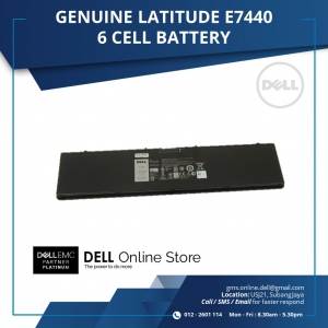 DELL GENUINE LATITUDE E7440 6 CELL BATTERY