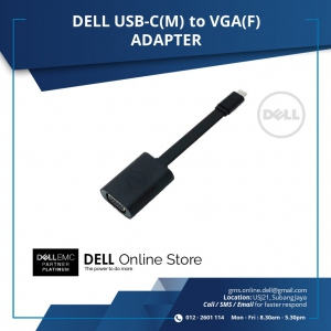 DELL USB-C(M) to VGA(F) ADAPTER