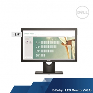 DELL E-ENTRY E1916HV 18.5 LED MONITOR	(VGA)