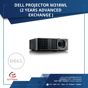 DELL PROJECTOR M318WL (2 year Advanced Exchange)