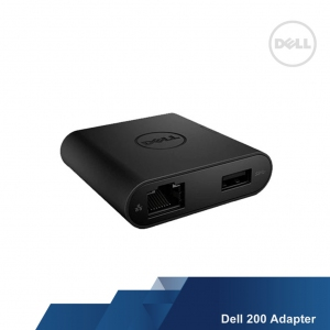 DELL DA200 ADAPTER (USB-C to HDMI/VGA/ETHERNET/USB 3.0)