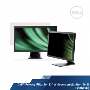 "3M™ Privacy Filter for 23"" Widescreen Monitor (16:9) (PF230W9B)"