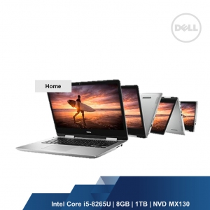 DELL INSPIRON 5482 2IN1  (INTEL I5-8265U, 8GB,1TB,NVD MX130,WIN10HOME,2YRS)