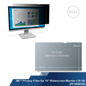 "3M™ Privacy Filter for 19"" Widescreen Monitor (16:10) (PF190W1B)"