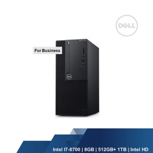 DELL OPTIPLEX 3070 MT (INTEL I5-9500,8GB,256GB,INTEL HD,Wireless,WIN10PRO,3YRS)