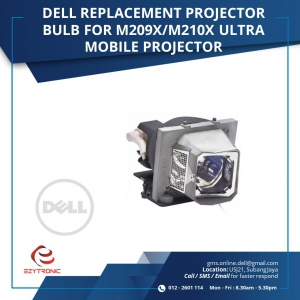 DELL REPLACEMENT PROJECTOR BULB FOR M209X/M210X ULTRA MOBILE PROJECTOR
