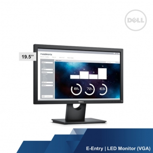 DELL E-ENTRY E2016HV 19.5 LED MONITOR	(VGA)