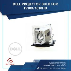 DELL PROJECTOR BULB FOR 1510X / 1610HD