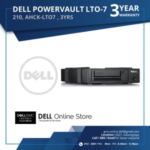 DELL POWERVAULT LTO-7 EXTERNAL TAPE DRIVE (210-AHCK-LTO7)