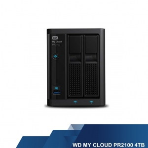 WESTERN DIGITAL EXTERNAL HARD DISK - WD MYCLOUD PR2100 4 TB