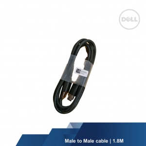 DELL DISPLAY PORT CABLE MALE TO MALE 1.8M (5k1fn12501)