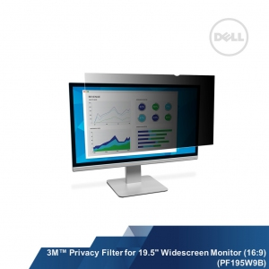 "3M™ Privacy Filter for 19.5"" Widescreen Monitor (PF195W9B)"