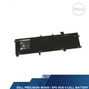 DELL GENUINE XPS 9530/PRECISION M3800 6 CELL 91WH HIGH CAPACITY BATTERY
