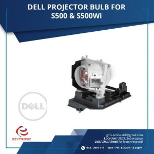 DELL PROJECTOR BULB FOR S500 & S500Wi