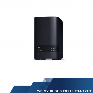 WESTERN DIGITAL EXTERNAL HARD DISK - WD MY CLOUD EX2 ULTRA 12 TB