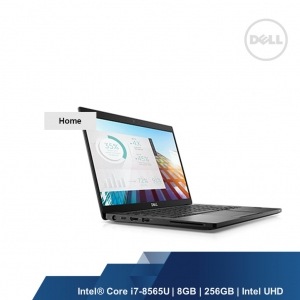 DELL LATITUDE 7380 (INTEL I7-8565U,8GB,256SSD,INTEL UHD,WIN10H,2YRS)
