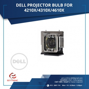 DELL PROJECTOR BULB FOR 4210X/4310X/4610X
