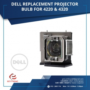 DELL REPLACEMENT PROJECTOR BULB FOR 4220 & 4320