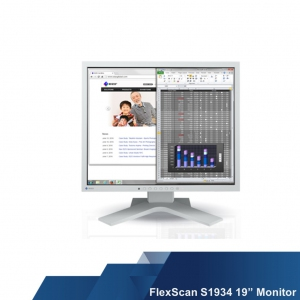 "FlexScan S1934 19"" Square Monitor with IPS Panel for Offices and Control Rooms"