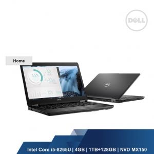DELL INSPIRON 5480 (INTEL I5-8265U 4GB,1TB+128GB,INTEL HD,WIN10HOME,2YRS)