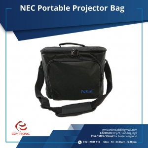 NEC Portable Projector Bag for V Series ((W x D x H) 35 x 14 x 27 cm)