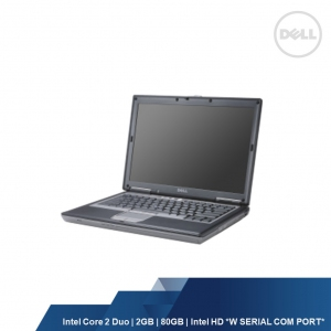 DELL LATITUDE D630 (CORE 2 DUO,2GB,80GB,INTEL HD,WIN 7P ) USED W SERIAL COM PORT