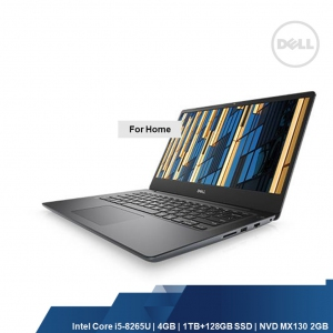 DELL VOSTRO 5481 (INTEL I5-8265U,4GB,1TB+128SSD,NVD MX130 2GB,WIN10HOME,1YRS)