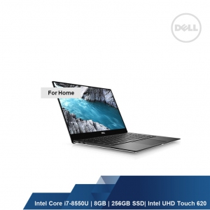 DELL XPS 9370 (INTEL I7-8550U,8GB,256GB SSD,INTEL UHD TOUCH,WIN10HOME,1YRS)