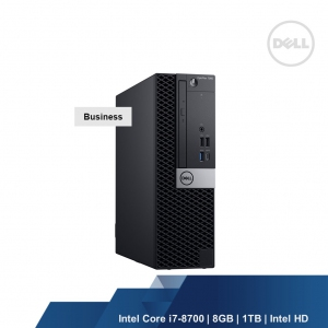 DELL OPTIPLEX 7070 MT (INTEL I7-9700,8GB,1TB,INTEL HD, WIN10PRO,3YRS)